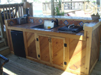 D Amp D Construction We Build Patio Bars And Kitchenettes
